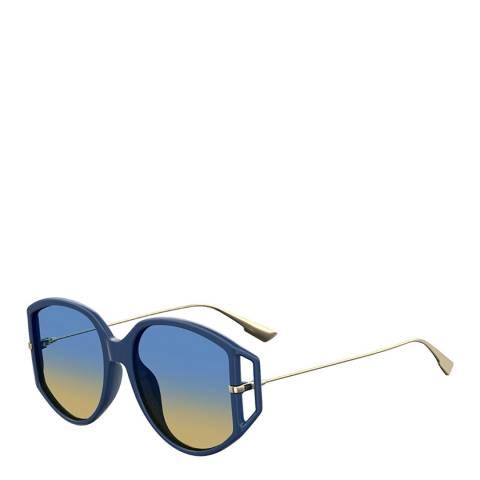 Dior Women's Blue/Gold Dior Sunglasses 54mm