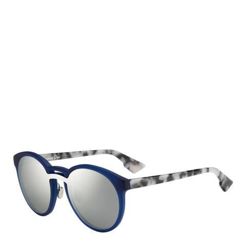 Dior Women's Blue/Marbled Dior Sunglasses 99mm
