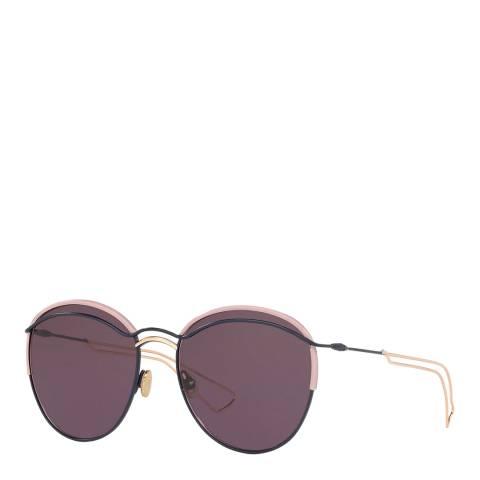 Dior Women's Purple/Gold Dior Sunglasses 57mm