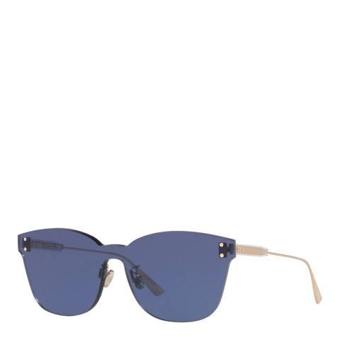 Dior Women's Blue/Gold Dior Sunglasses 99mm