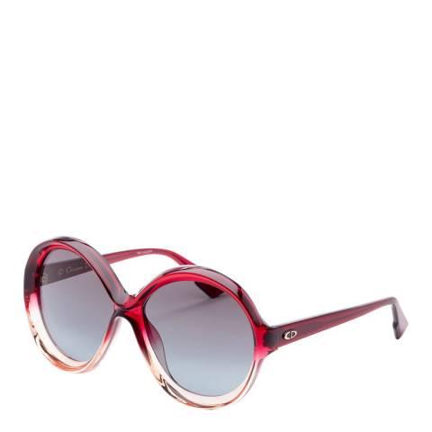 Dior Women's Burgundy/Blue Dior Sunglasses 58mm