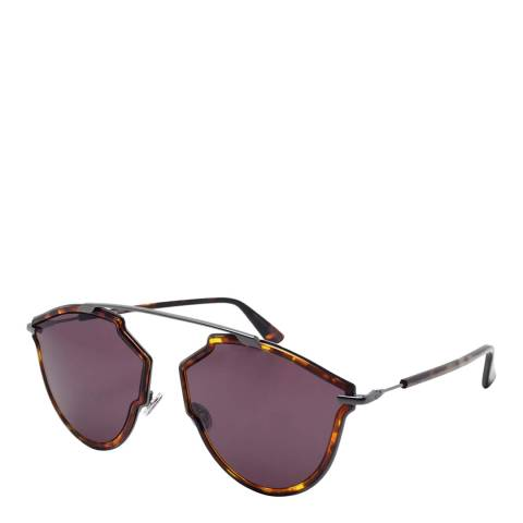 Dior Women's Purple/Brown Havana Dior Sunglasses 58mm