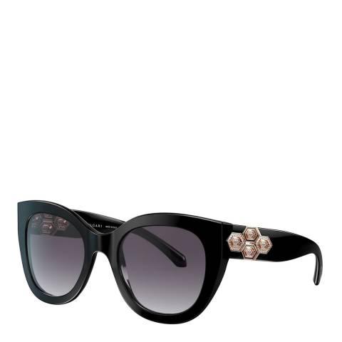 Bvlgari Women's Black Bvlgari Sunglasses 53mm