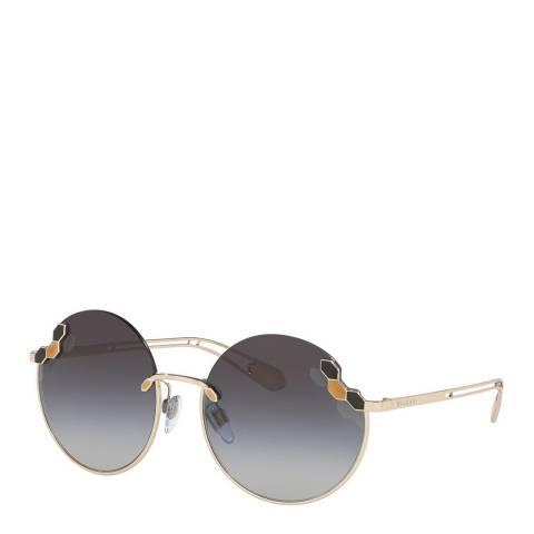 Bvlgari Women's Blue/Gold Bvlgari Sunglasses 57mm