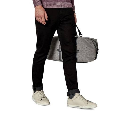 Ted Baker Black Bunting Straight Fit Cotton Denim Jean