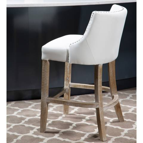 Fifty Five South Stud Detail Bar Chair