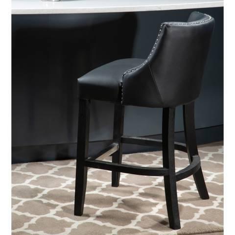 Fifty Five South Black Hevea Bar Chair
