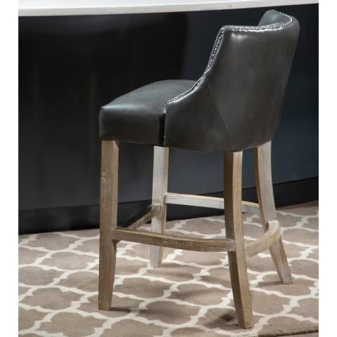 Fifty Five South Grey Hevea Bar Chair