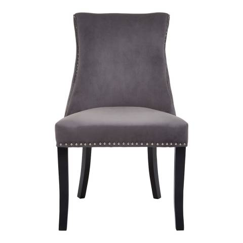 Fifty Five South Kensington Townhouse Dark Grey Dining Chair