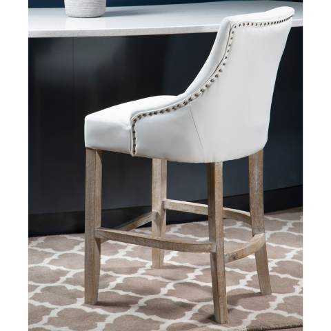 Fifty Five South Kensington Townhouse Ivory Bar Chair