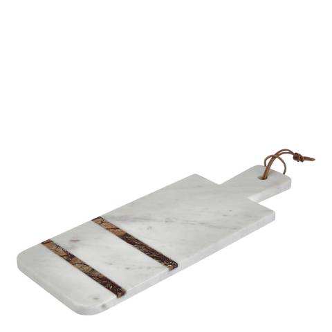 Premier Housewares Paddle Board, Forest Marble, White / Brown