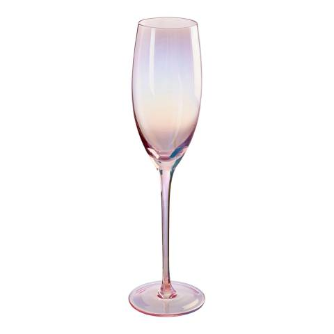 Premier Housewares Frosted Deco Set of 4 Champagne Glasses