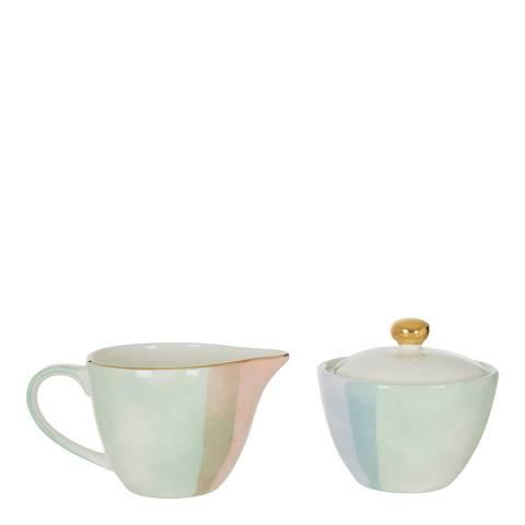 Premier Housewares Colour of Paradise Sugar Pot and Creamer