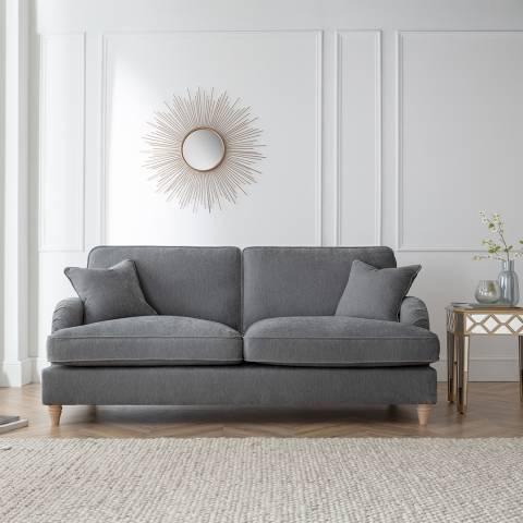The Great Sofa Company The Swift 3 Seater Sofa, Manhattan Charcoal