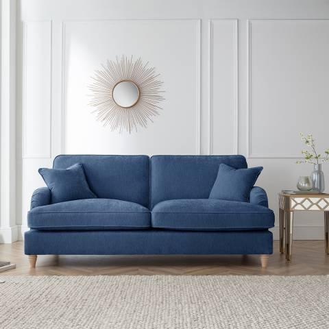 The Great Sofa Company The Swift 3 Seater Sofa, Manhattan Navy