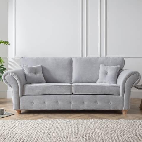 The Great Sofa Company The Carter 3 Seater Sofa, Manhattan Ice