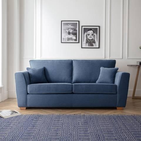 The Great Sofa Company The Bliss 3 Seater Sofa, Manhattan Navy