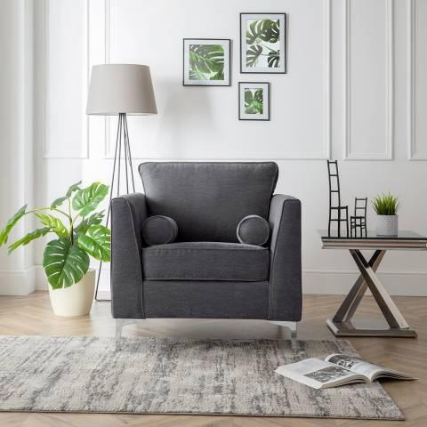 The Great Sofa Company The Douglas Armchair, Manhattan Charcoal