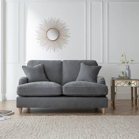 The Great Sofa Company The Swift 2 Seater Sofa, Manhattan Charcoal