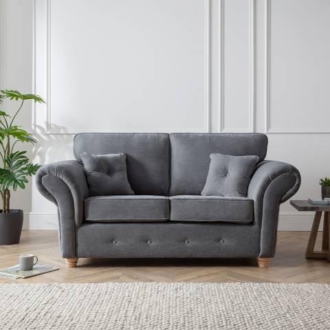 The Great Sofa Company The Carter 2 Seater Sofa, Manhattan Charcoal