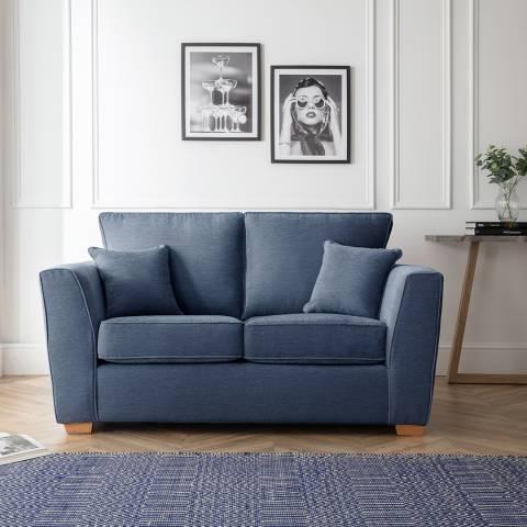 The Great Sofa Company The Bliss 2 Seater Sofa, Manhattan Navy
