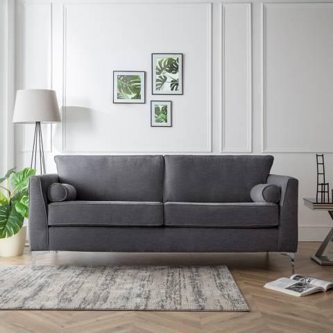 The Great Sofa Company The Douglas 3 Seater Sofa, Manhattan Charcoal