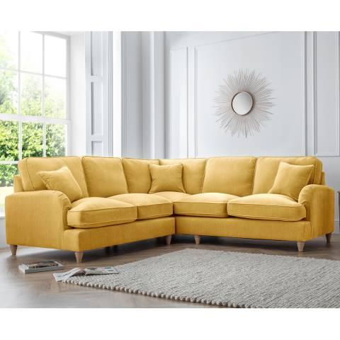 The Great Sofa Company The Swift 2 Corner 2 Sofa, Manhattan Gold