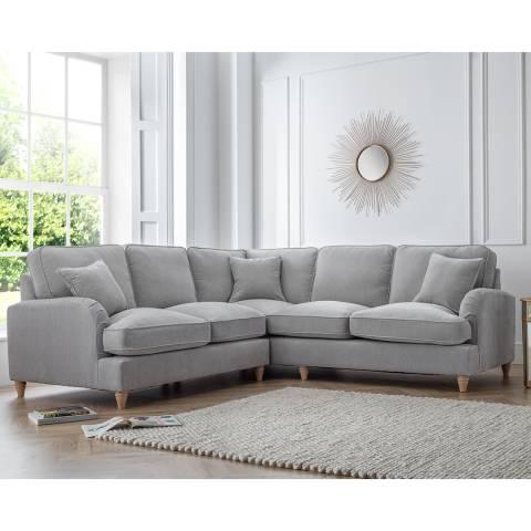 The Great Sofa Company The Swift 2 Corner 2 Sofa, Manhattan Ice