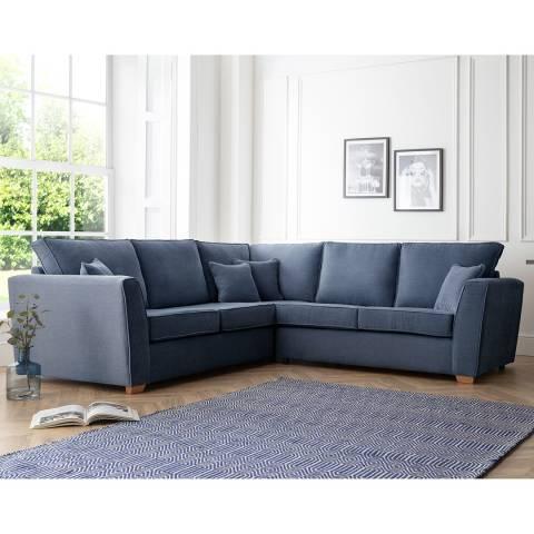 The Great Sofa Company The Bliss 2 Corner 2 Sofa, Manhattan Navy