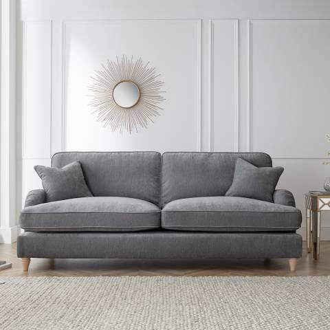 The Great Sofa Company The Swift 4 Seater Sofa, Manhattan Charcoal