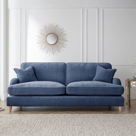 The Great Sofa Company The Swift 4 Seater Sofa, Manhattan Navy