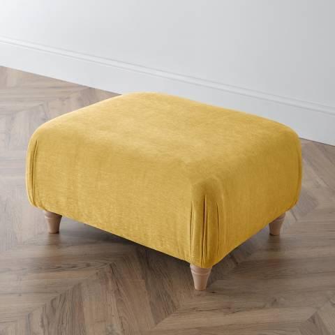 The Great Sofa Company The Swift Footstool, Manhattan Gold