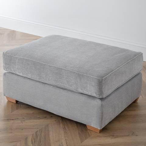 The Great Sofa Company The Bliss Footstool, Manhattan Ice