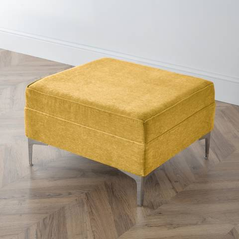 The Great Sofa Company The Douglas Footstool, Manhattan Gold