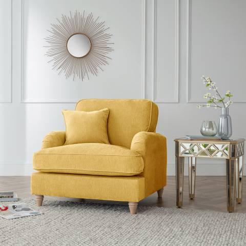 The Great Sofa Company The Swift Armchair, Manhattan Gold