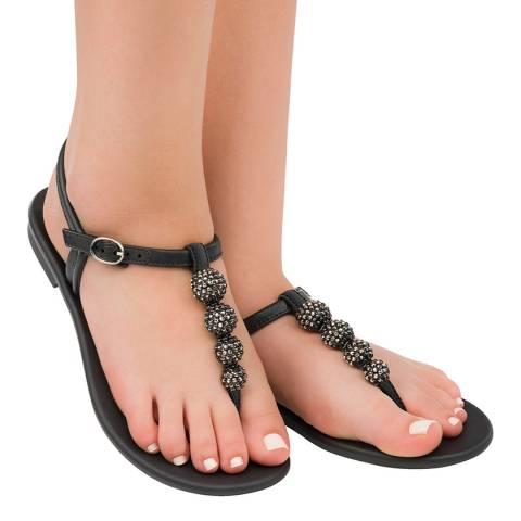 Grendha Cacau Sandal Black