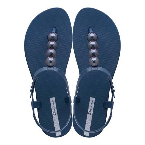Ipanema Class Sandal Pebble Navy Chrome
