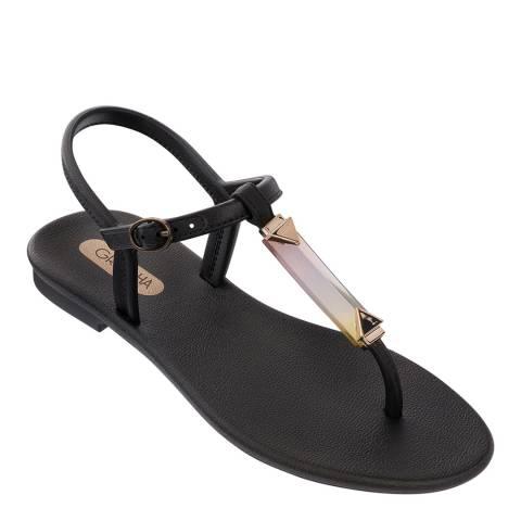 Grendha Crystal Sandal Black