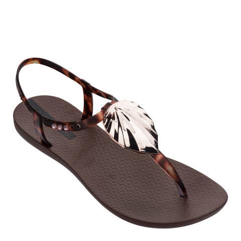 Ipanema Leaf Sandal Shine Tortoise Shell