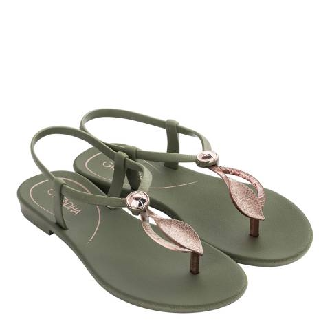 Grendha Marajo Sandal  Sage 20