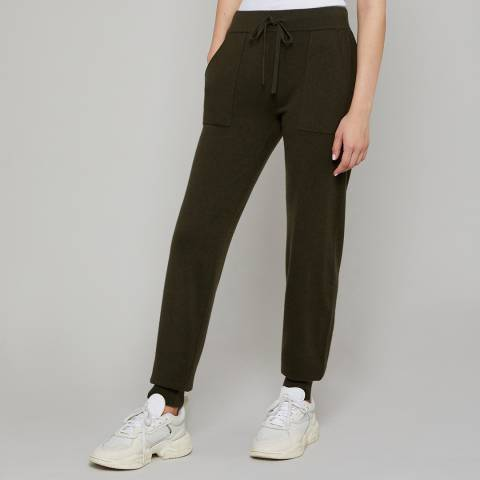 N°· Eleven Khaki Cashmere Blend Pocket Joggers