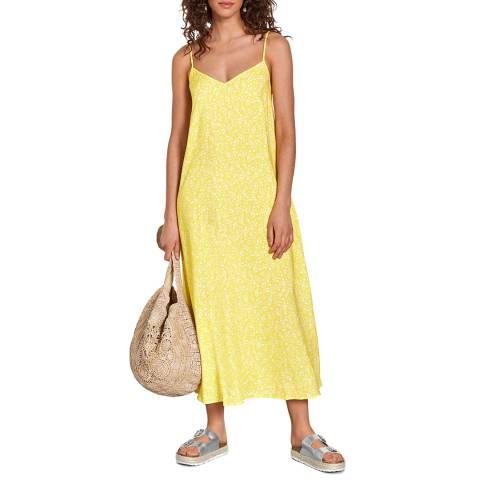 hush Yellow Floral Kitti Dress