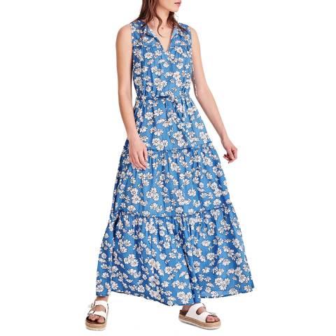 hush Blue Floral Bedelia Maxi Dress