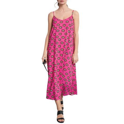 hush Pink Printed Bay Dress