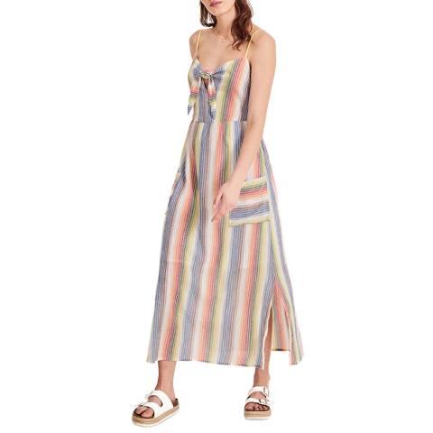 hush Multi Stripe Rosato Midi Dress