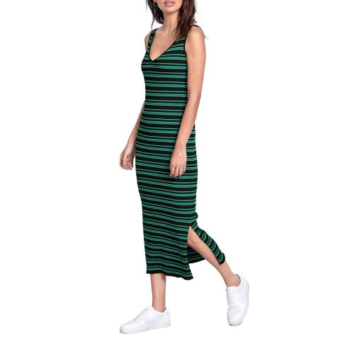 hush Multi Azra Striped Knitted Dress