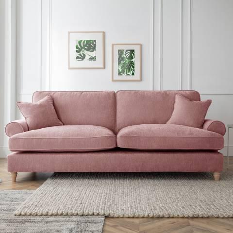 Cozey The Bromfield 4 Seater Sofa, Manhattan Plum