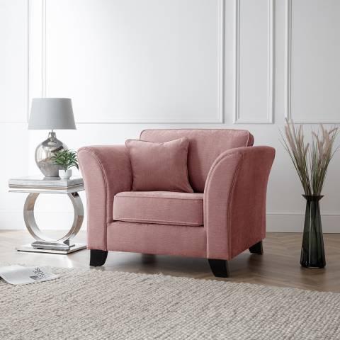 The Great Sofa Company The Knight Armchair, Manhattan Plum