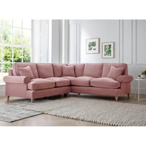 Cozey The Bromfield 2 Corner 2 Sofa, Manhattan Plum