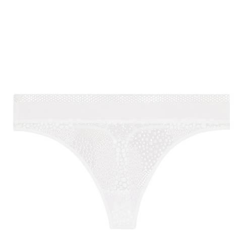 Simone Perele White Urban Thong
